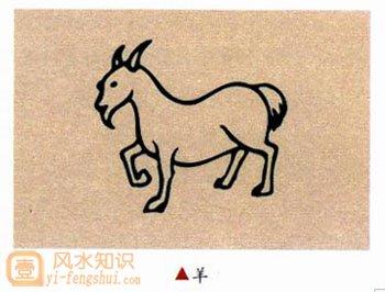2015生肖羊的简笔画