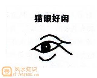 眼睛面相图解